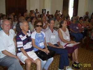 Visita do grupo à Igreja da cidade de Brodowski para conhecer a obra do pintor Candido Portinari