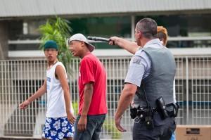 Rolezinho e Pancada da Polícia