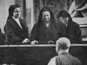 Mulheres auditoras no Vat II