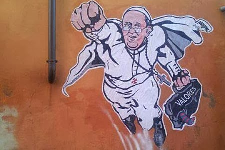 papaFrancisco superman