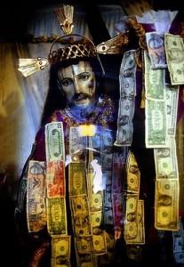 Deus com dinheiro