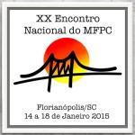 Logomarca do XX Encontro Nacional MFPC - com borda